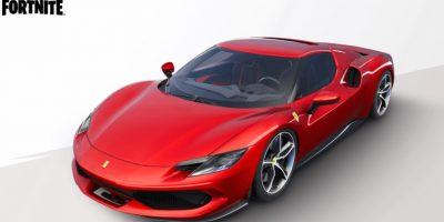 Fortnite announces collaboration with Ferrari: Ferrari 296 GTB in Fortnite