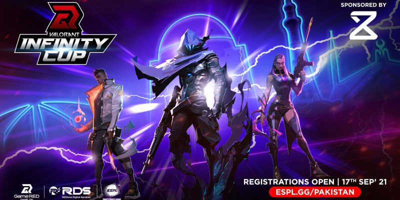 The VALORANT Infinity Cup is announced by GameRED for players across Pakistan. Registration has already opened for the Valorant Infinity Cup