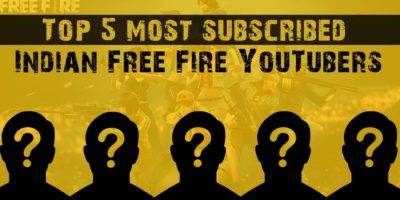 Garena Free Fire: Top 5 most subscribed Indian Free Fire Streamers